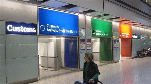 система тройного коридора в аэропорту