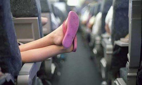 Дискомфорт в салоне самолета