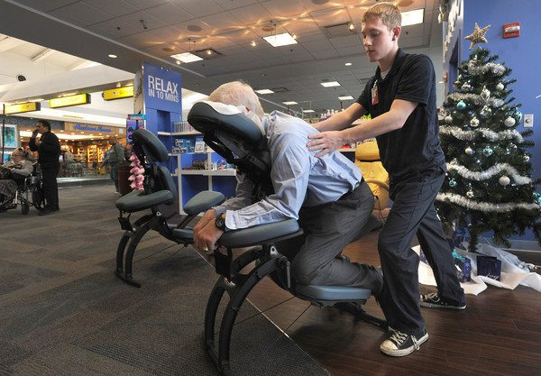 массаж в аэропорту
