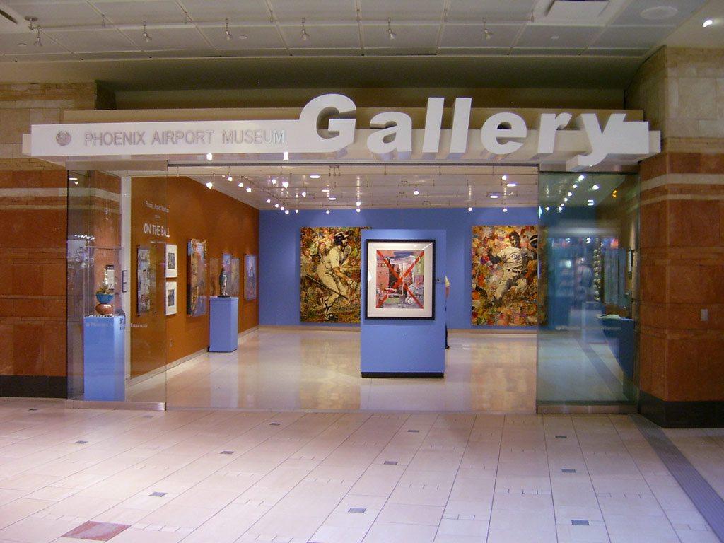 музей в аэропорту г. Феникс, США