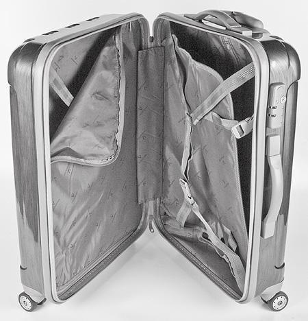 чемодан с разделителем и крепежными ремнями. Как выбрать чемодан