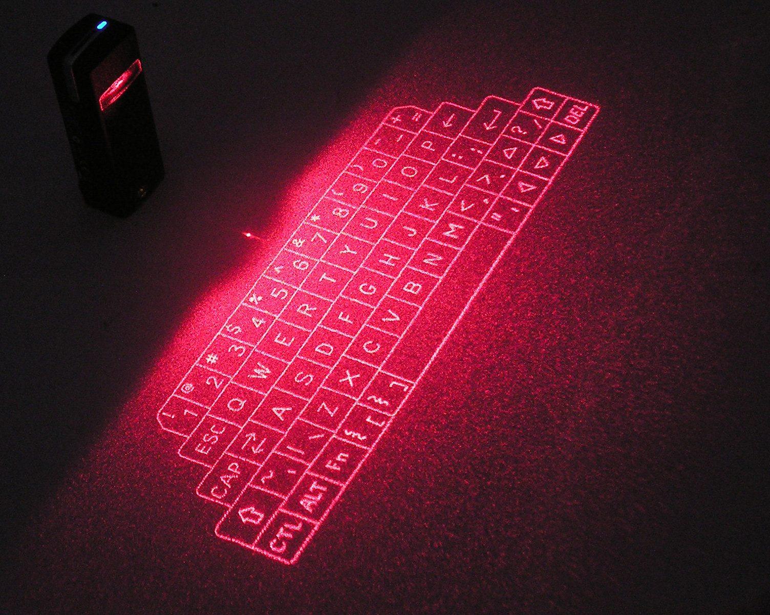 лазерной клавиатурой нового поколения Laser Virtual Keyboard