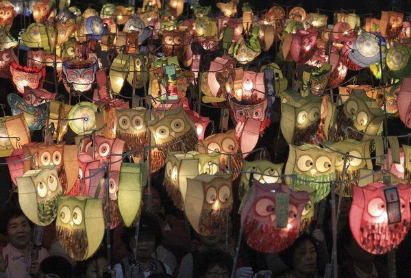 День рождения Будды, Южная Корея