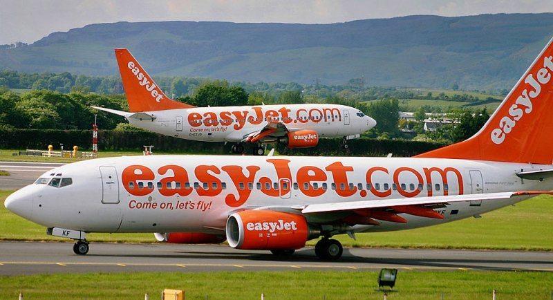 Самолеты бюджетной авиакомпании Easyjet