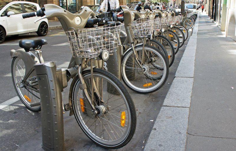 Велосипед на прокат в Париже