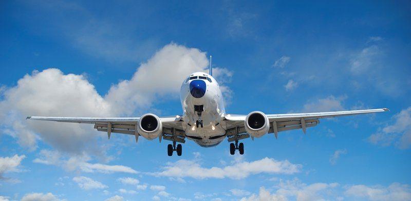 Первый раз летите на самолете