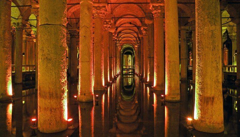 Базилика Цистерна Стамбул