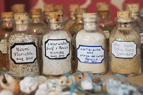 Песок с пляжа сувенир