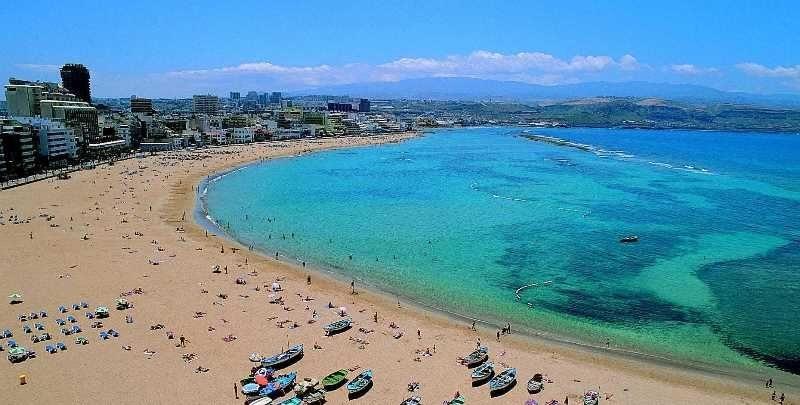 Пляжи на тенерифе пологие с крупным