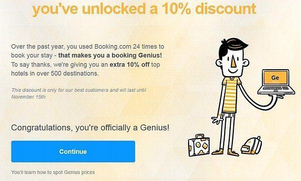 booking genius