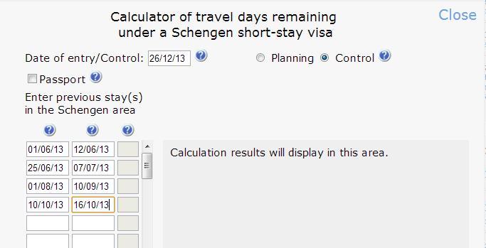 подсчет дней в Шенгене по новым правилам
