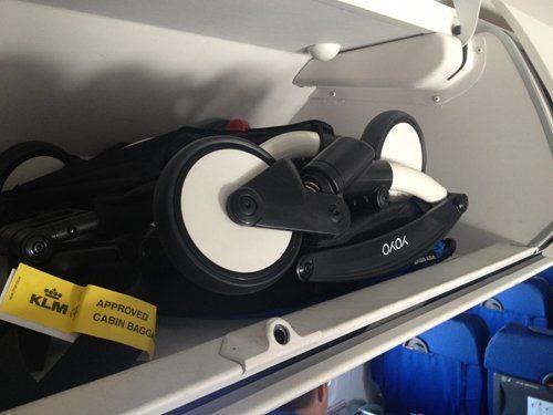 складная коляска для ручной клади