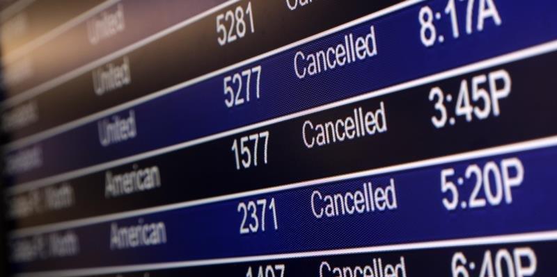 рейс отменили