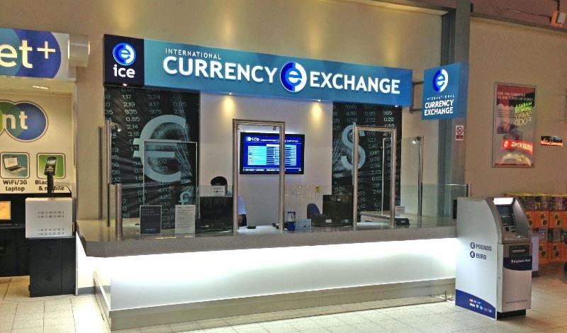 обмен валют за рубежом