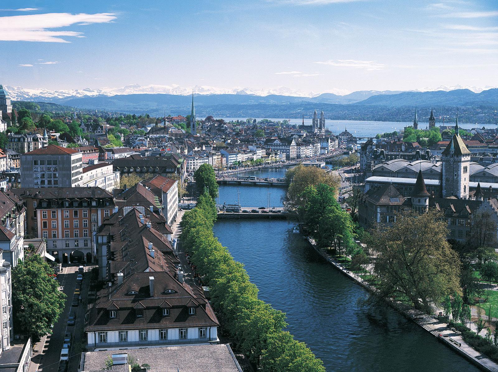 лучший аэропорт для пересадки - Цюрих