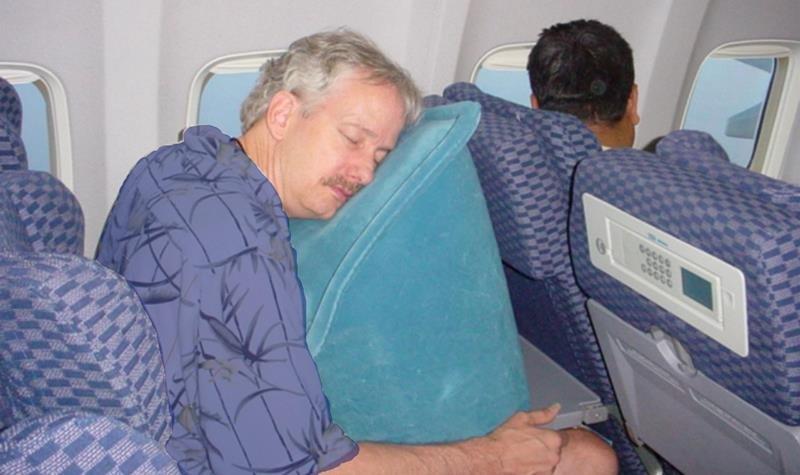 подушка для сна в самолет