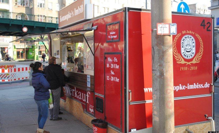 уличная еда в Европе