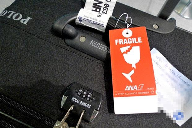 Перевозка хрупкого багажа в самолете
