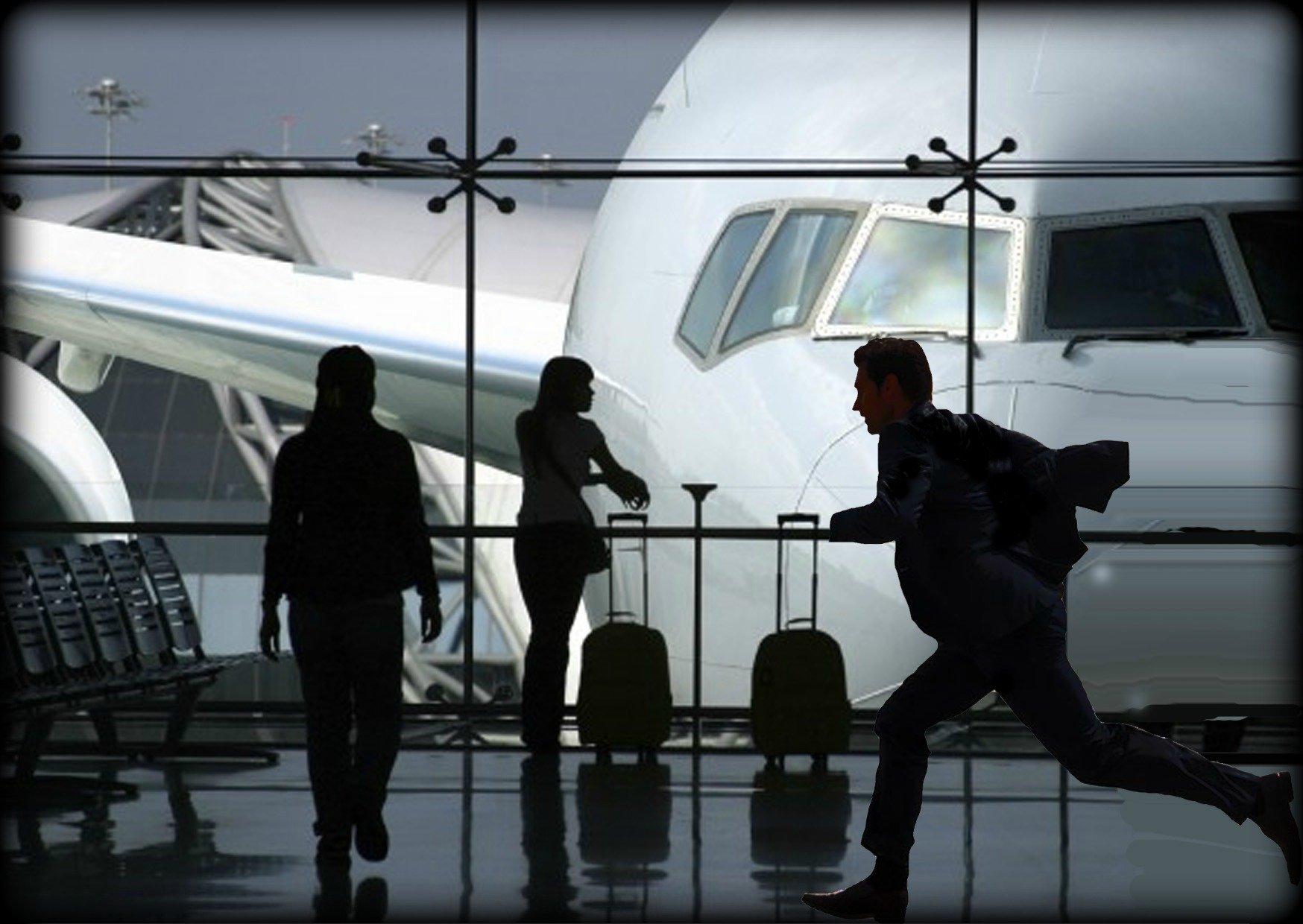 Как не опоздать на самолет?