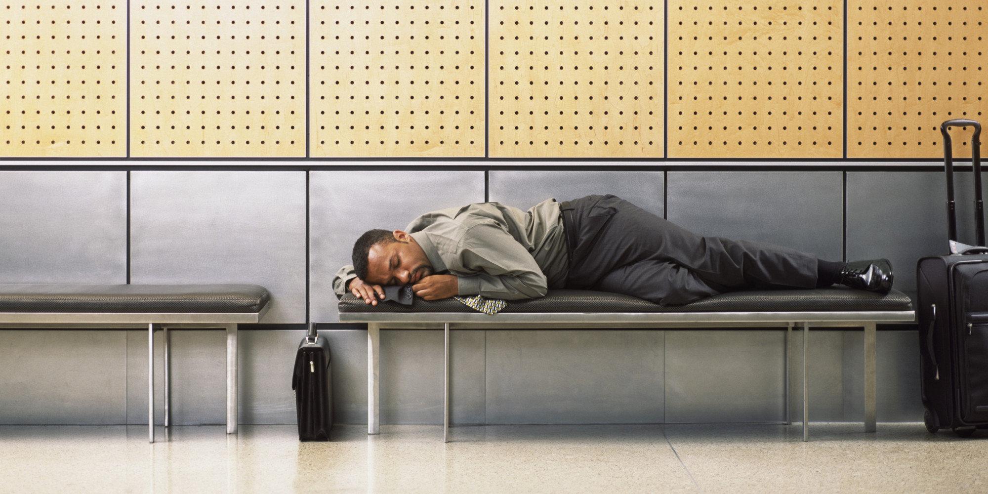 где ночевать в аэропорту