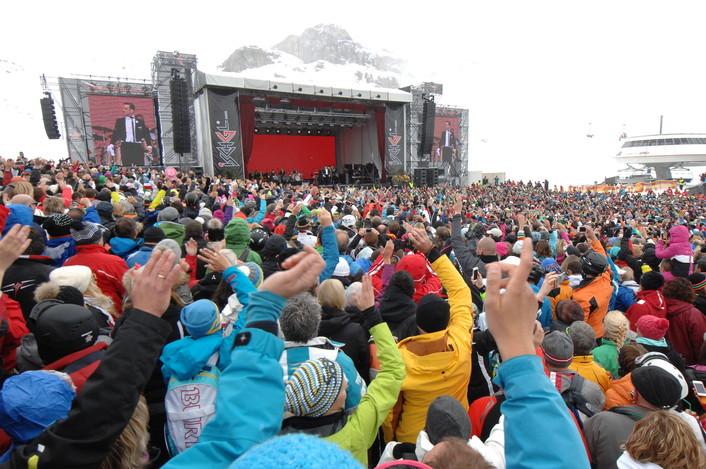 Закрытие горнолыжного сезона в Ишгле